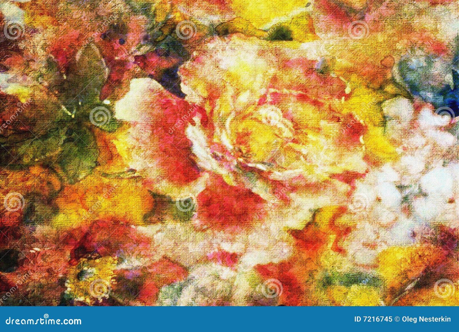 Florecimiento de rosas