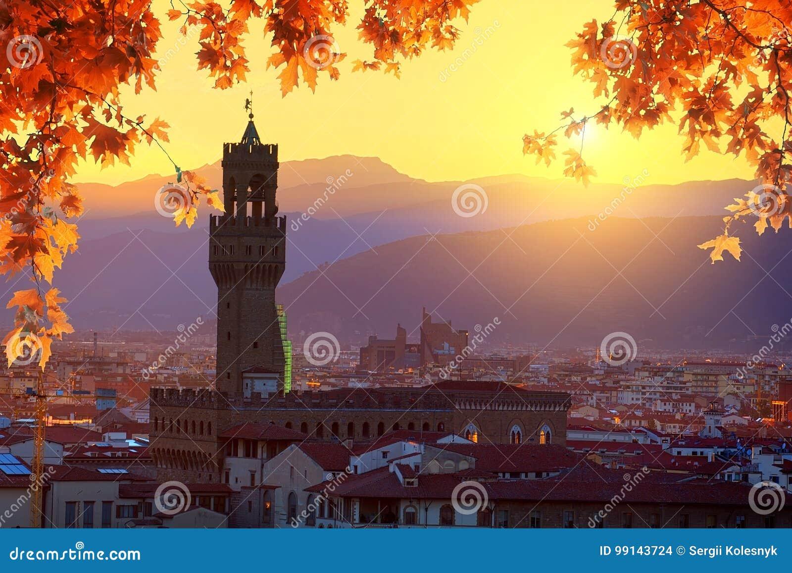 Florença no outono