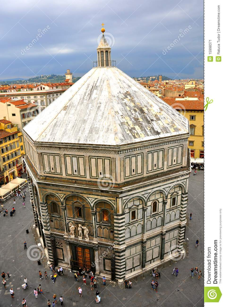 Florence baptistery, Italy