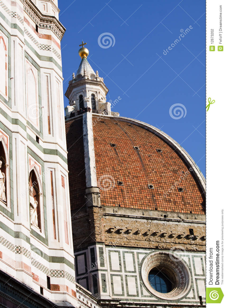 Florence Dome: Florence, Dome Stock Photography
