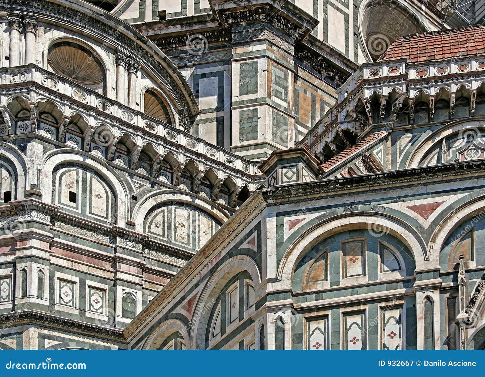 Florence Dome Santa Maria del Fiore - Detail