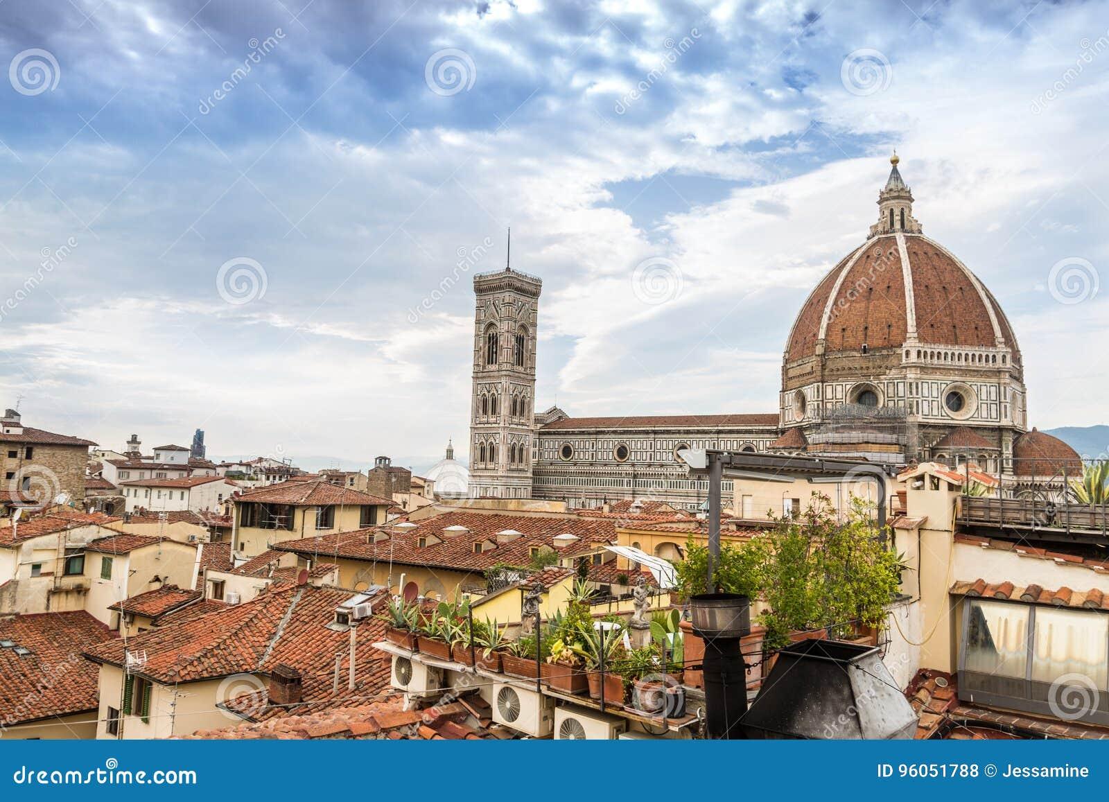 Florence Duomo de la terrasse d hôtel