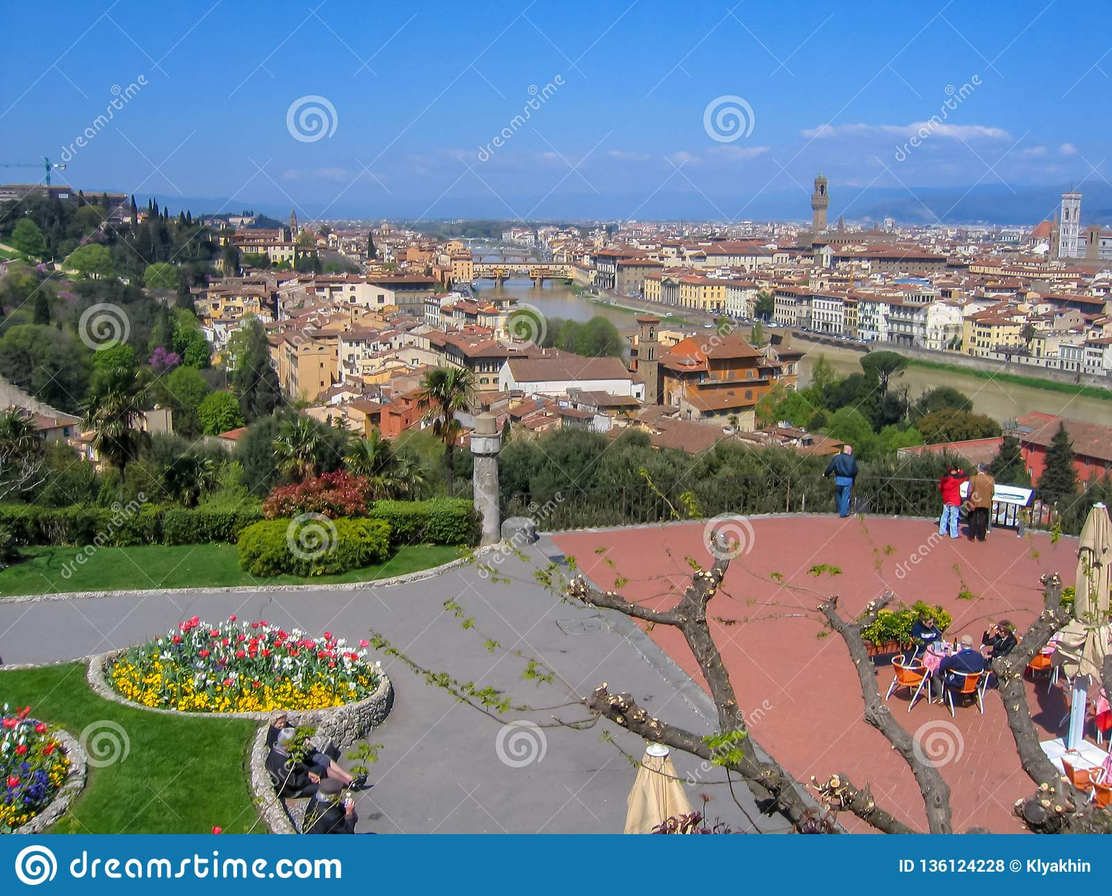 Florence Firenze-cityscape, Italië