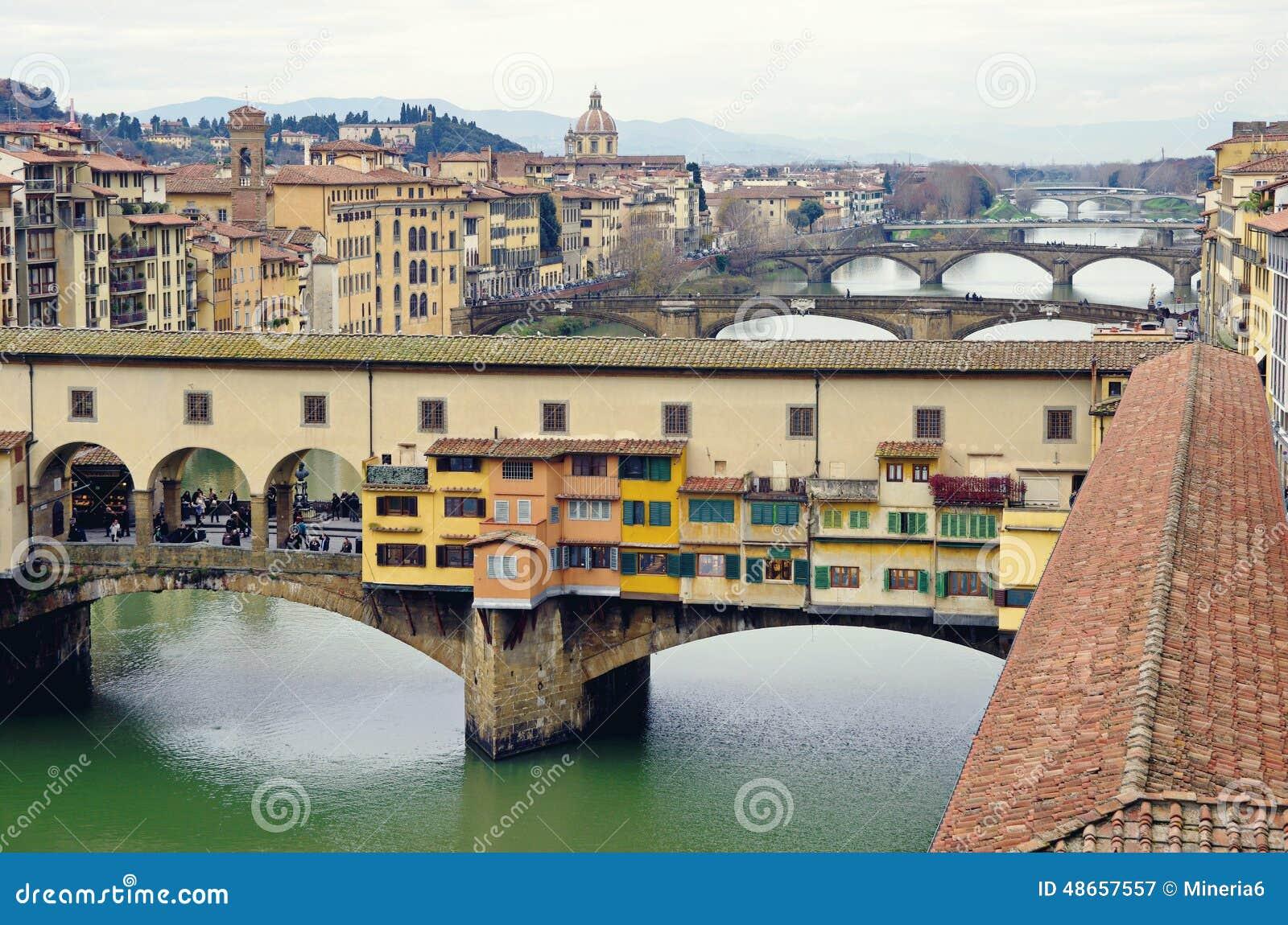 Florence italy pontevecchio