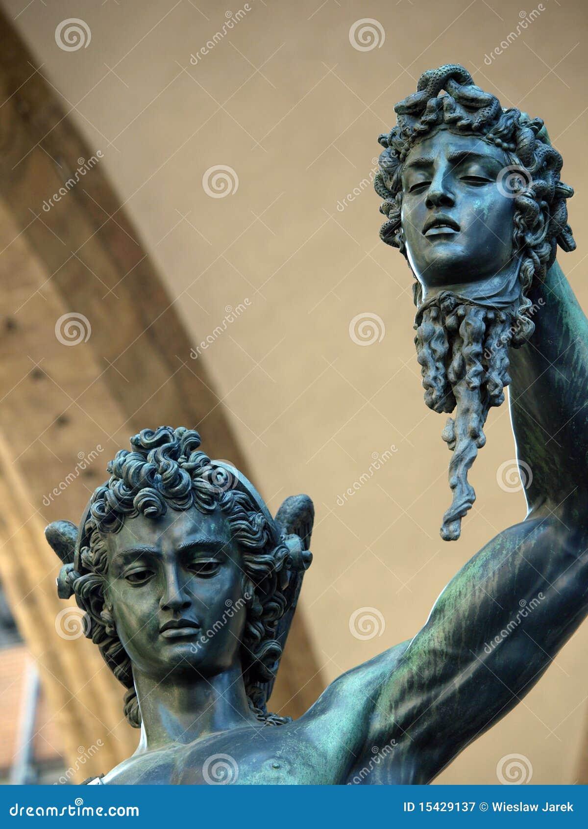 Florence - Perseus retenant la tête de la méduse