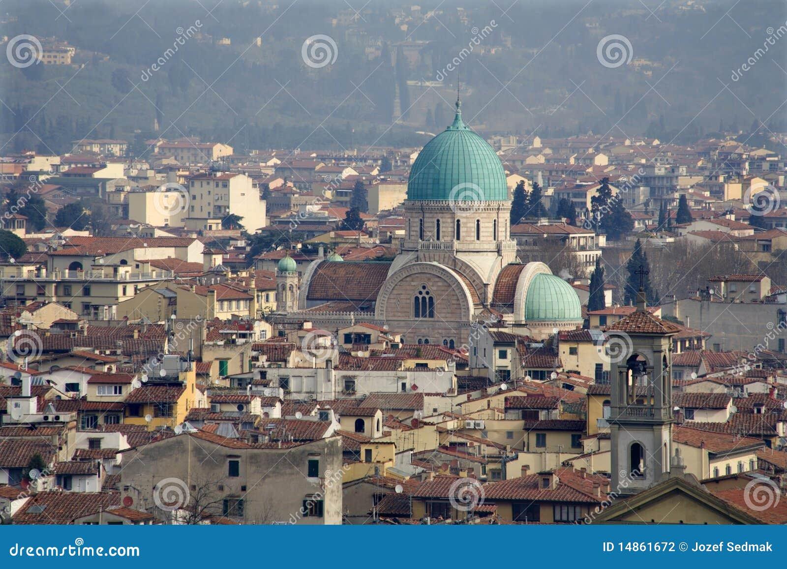 Florence - synagogue cupola
