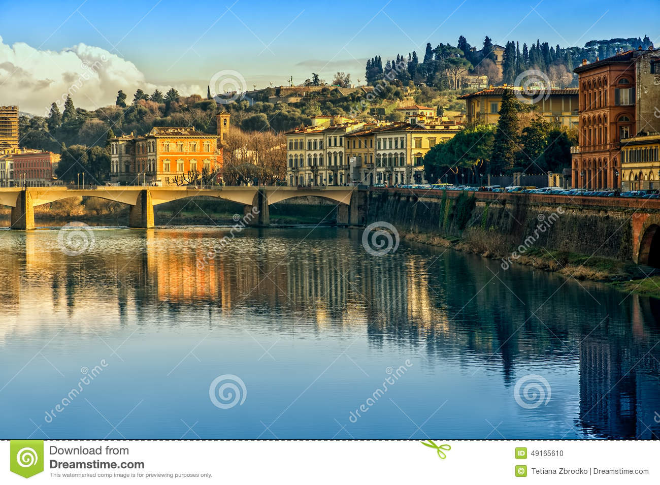Florence tuscany italy stock photo image 49165610 for Is florence in tuscany
