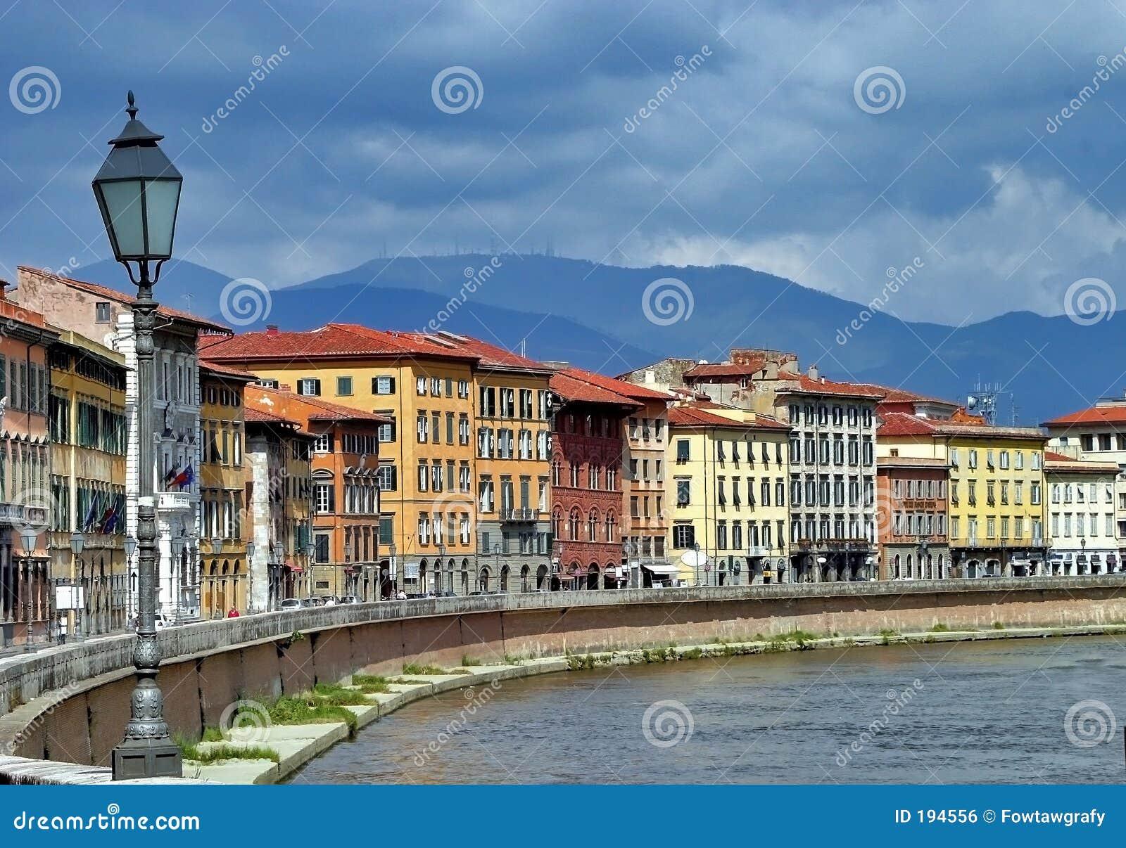 Florence Włoch rzeka arno