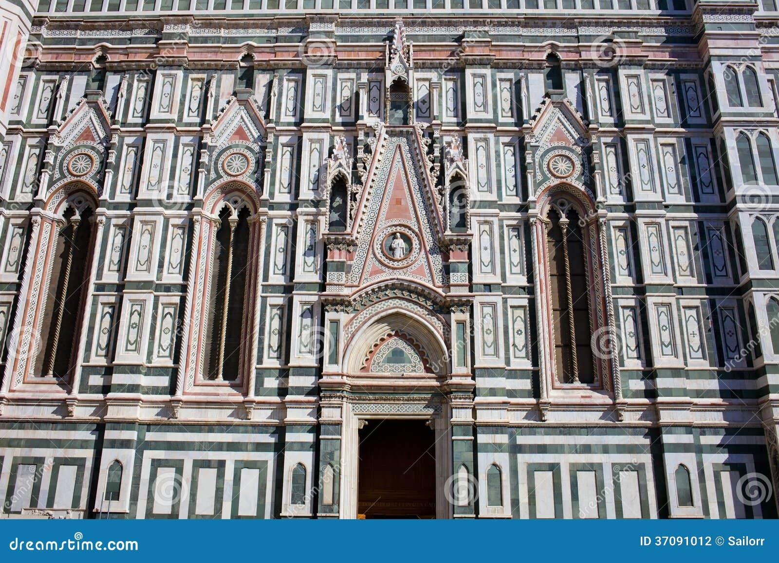 Download Florencja katedra zdjęcie stock. Obraz złożonej z budujący - 37091012