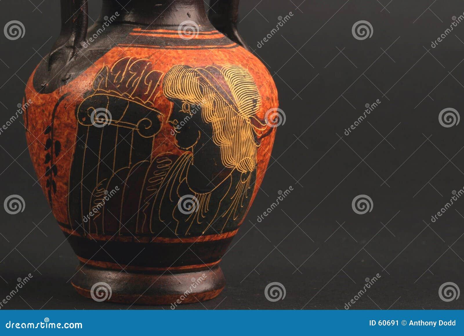 Florero griego