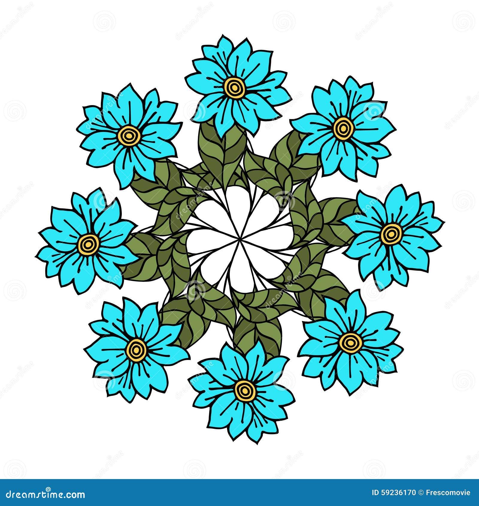 Download Flores ilustración del vector. Ilustración de diseño - 59236170