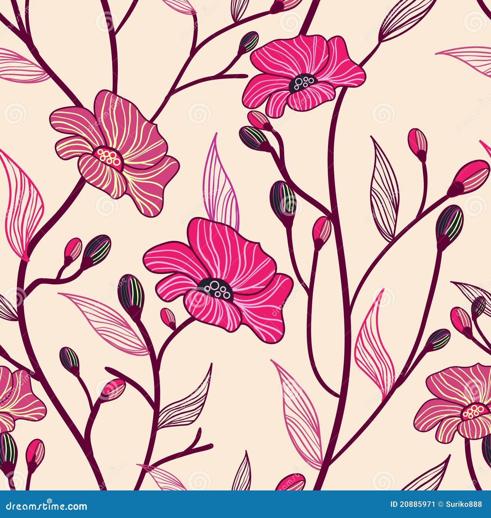Flores Antiguas Ilustracion Del Vector Ilustracion De Gris 20885971