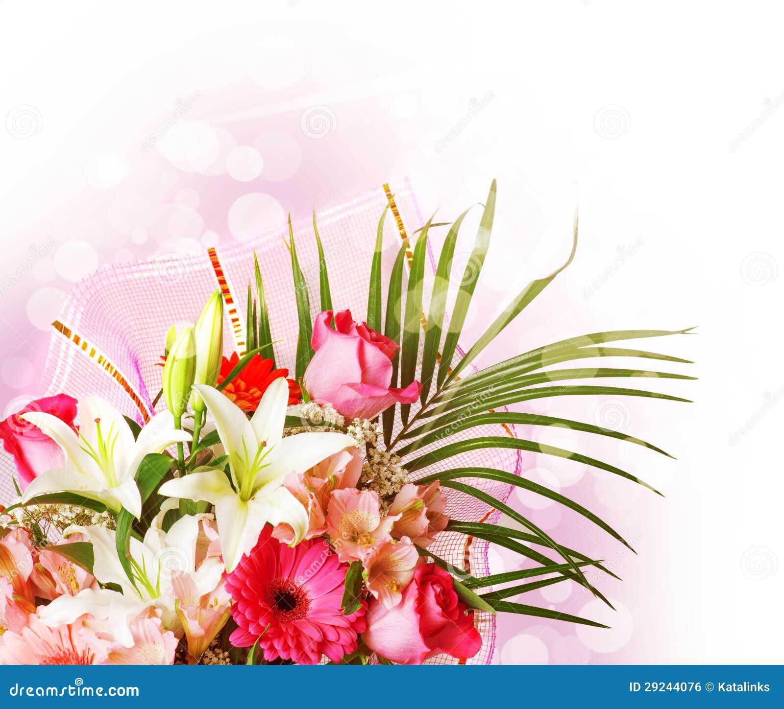 Download Flores Cor-de-rosa E Brancas Delicadas Da Mola Foto de Stock - Imagem de jardim, rosa: 29244076