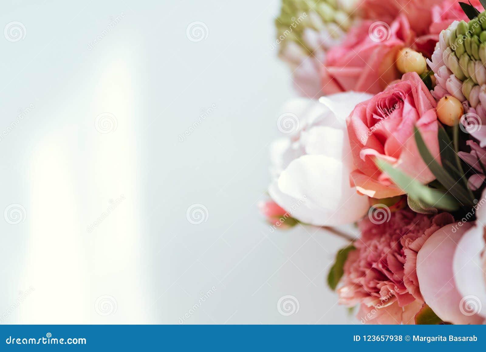 Flores de florescência bonitas