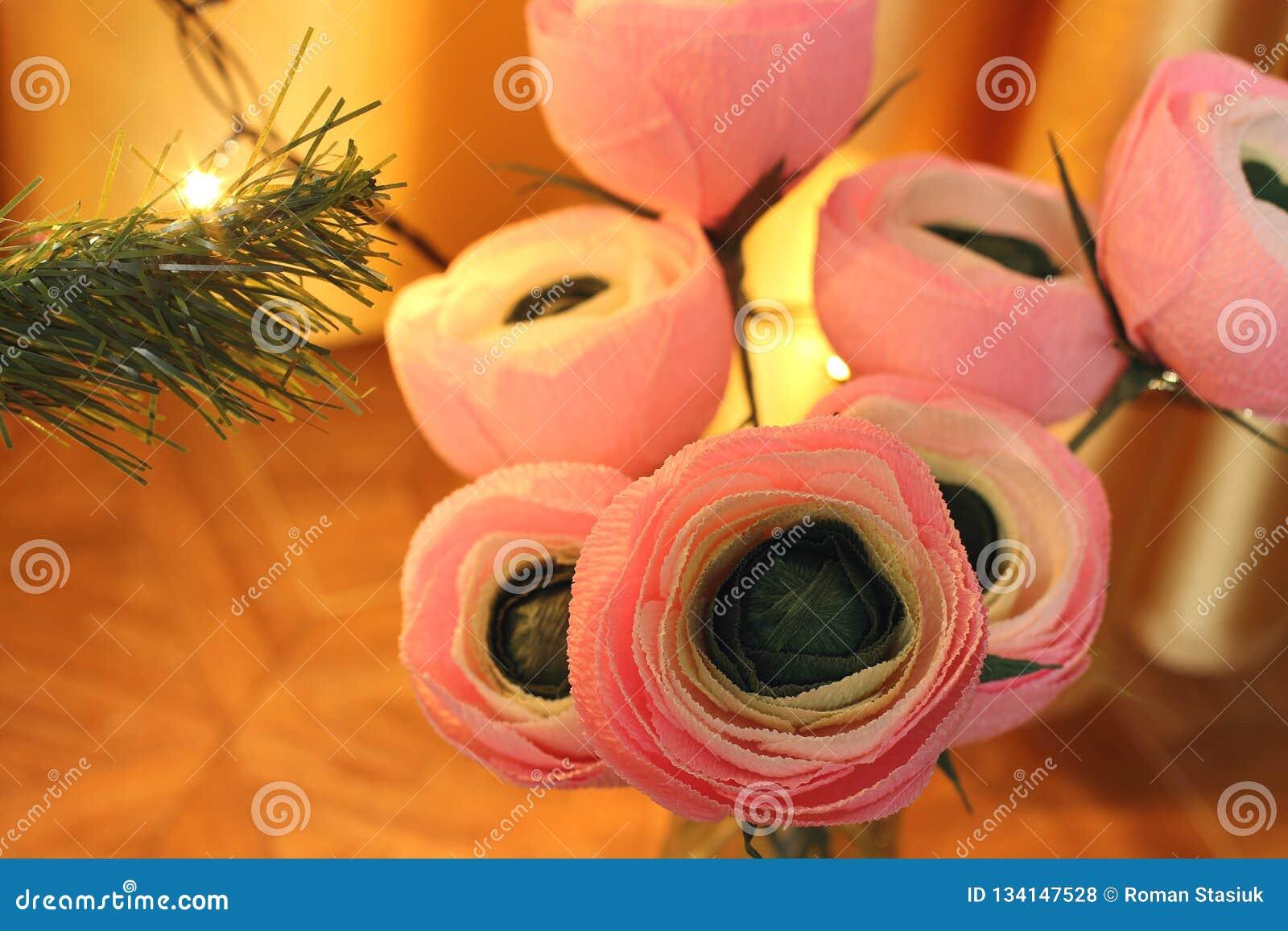 Flores de papel Flores Handmade