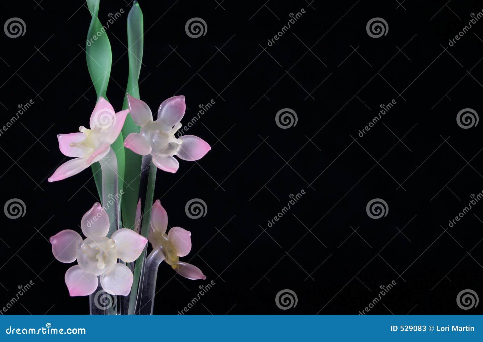 Flores de vidro