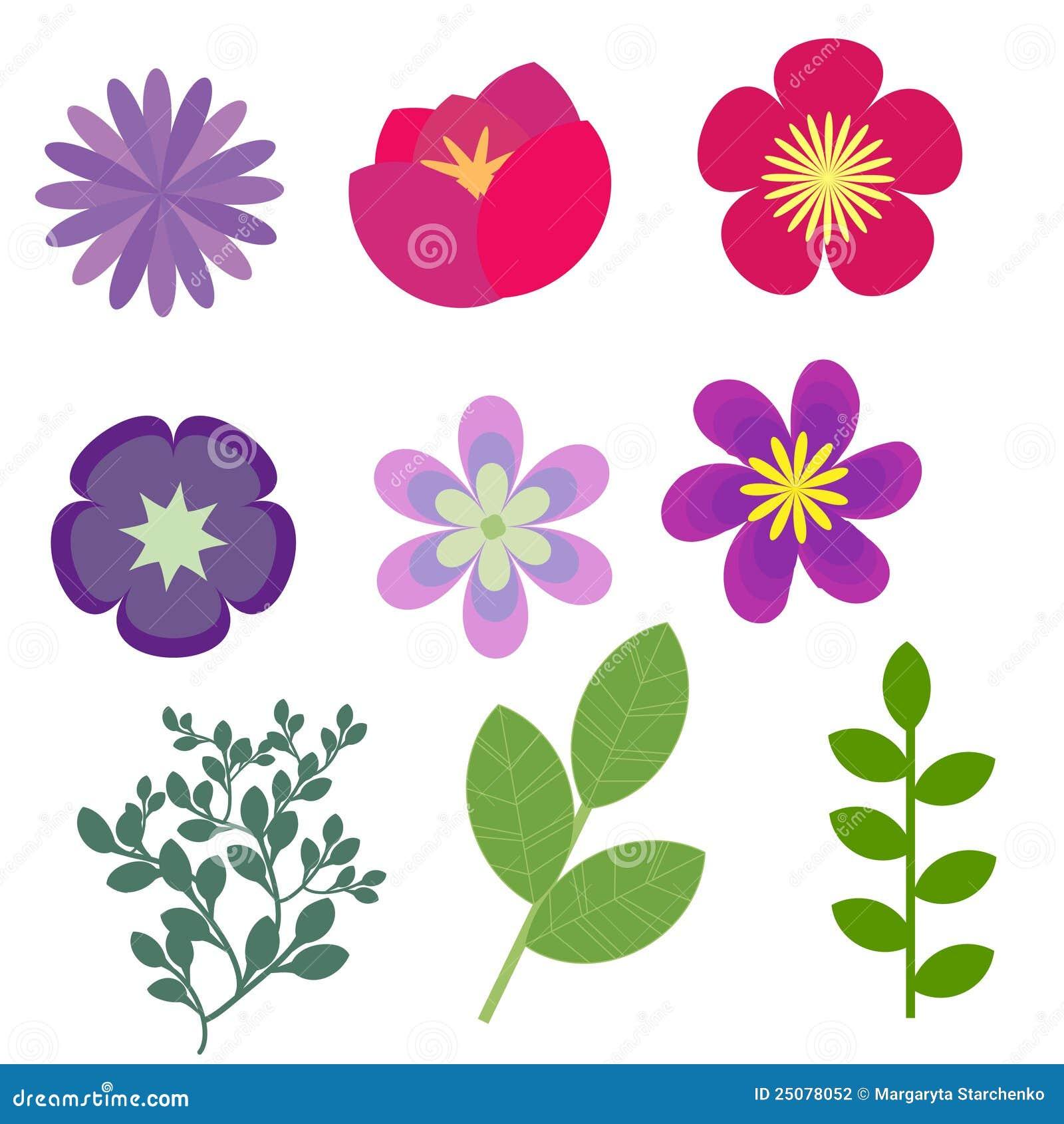 Flores decorativas fotograf a de archivo imagen 25078052 for Plantas decorativas