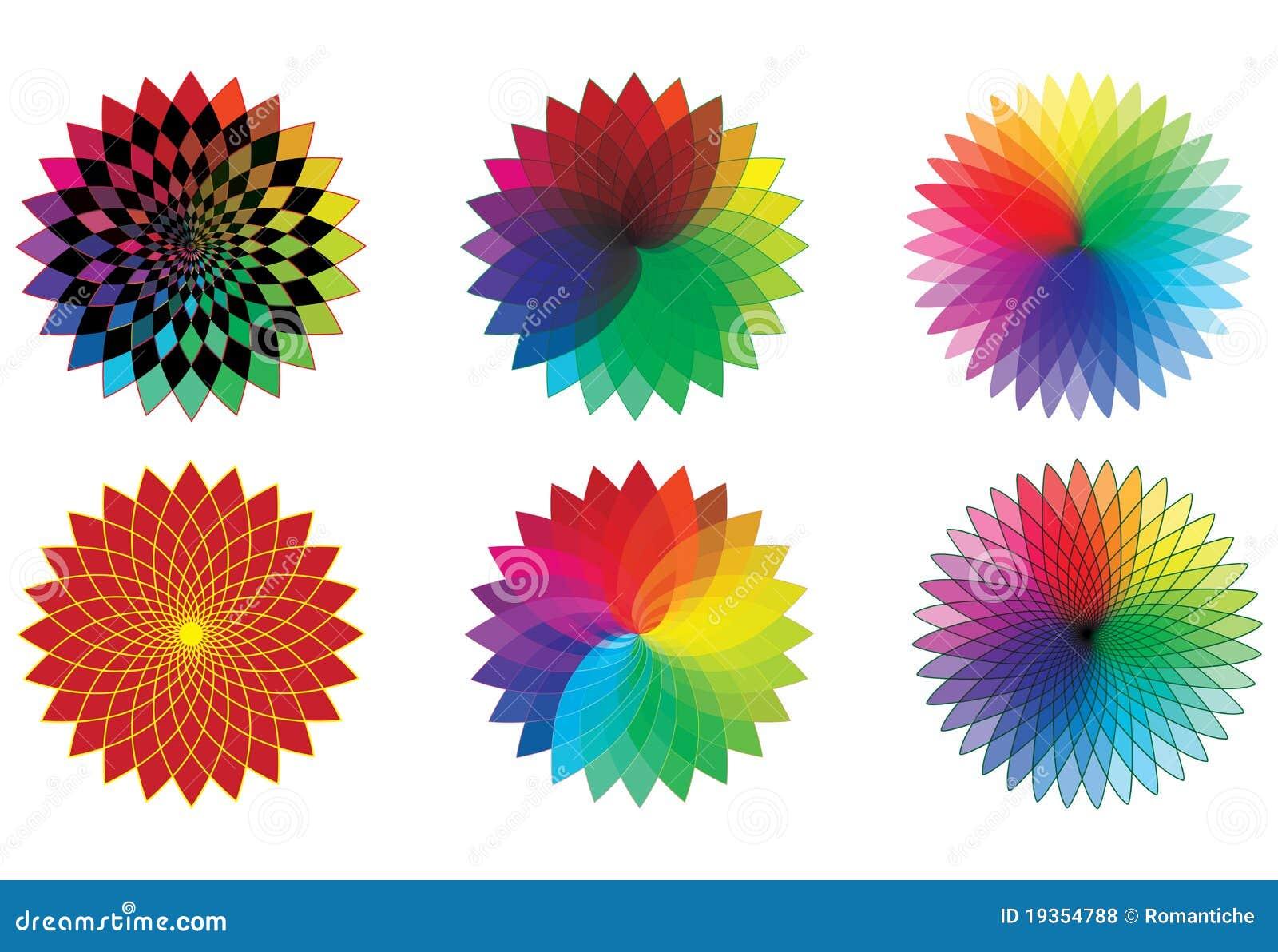 Flores do espectro