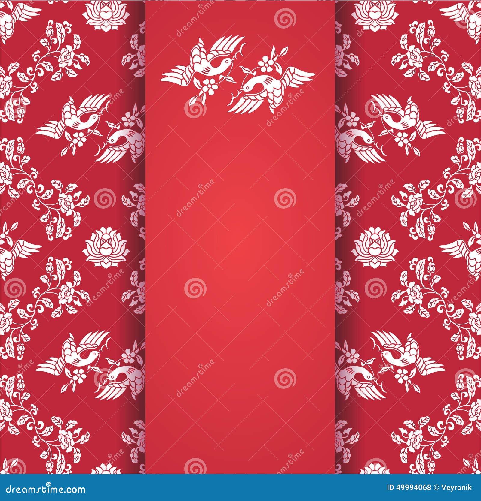 Photo collection carta fundo vermelho papel - Papel de pared retro ...
