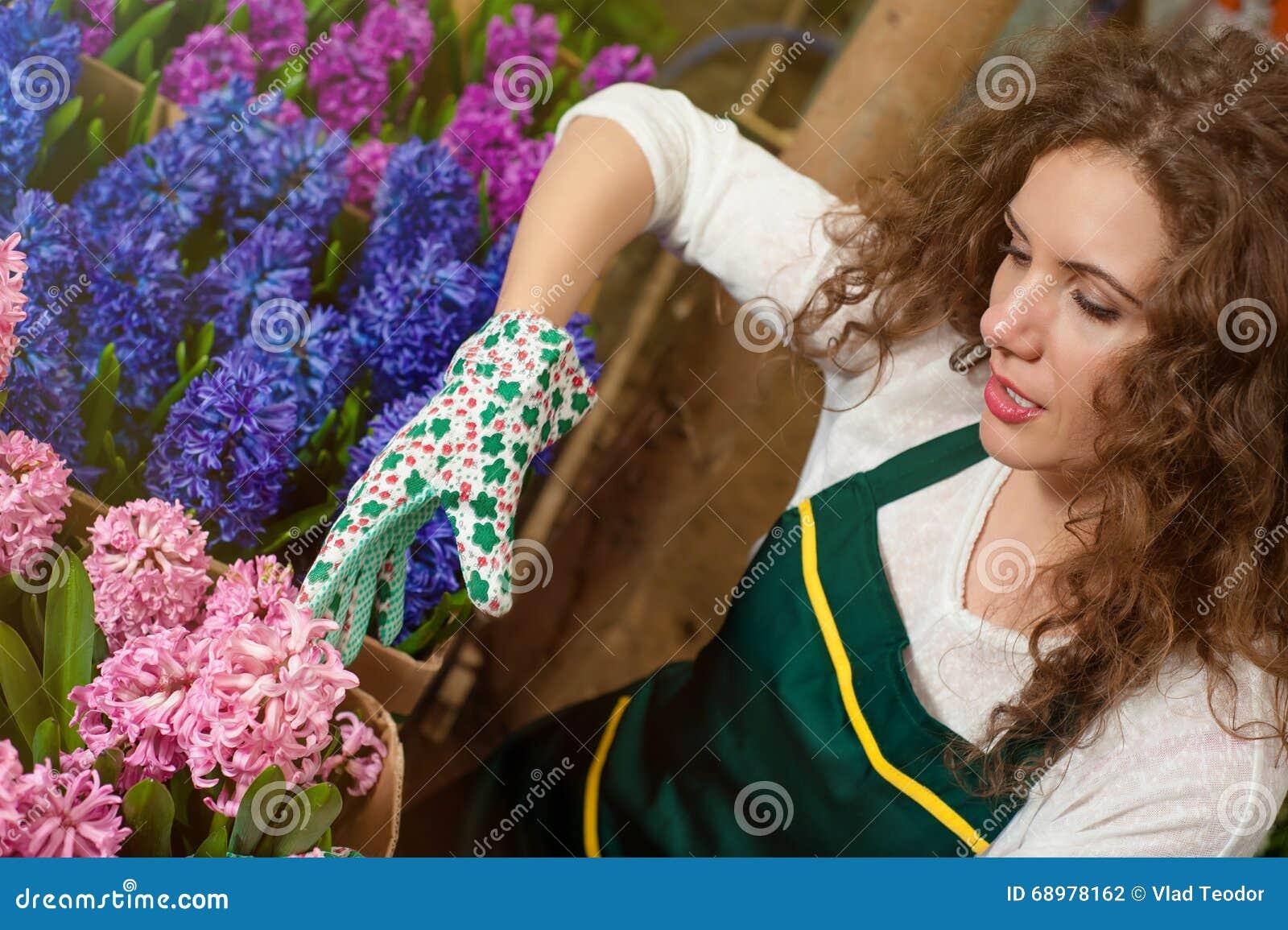 Flores hermosas listas para el mercado
