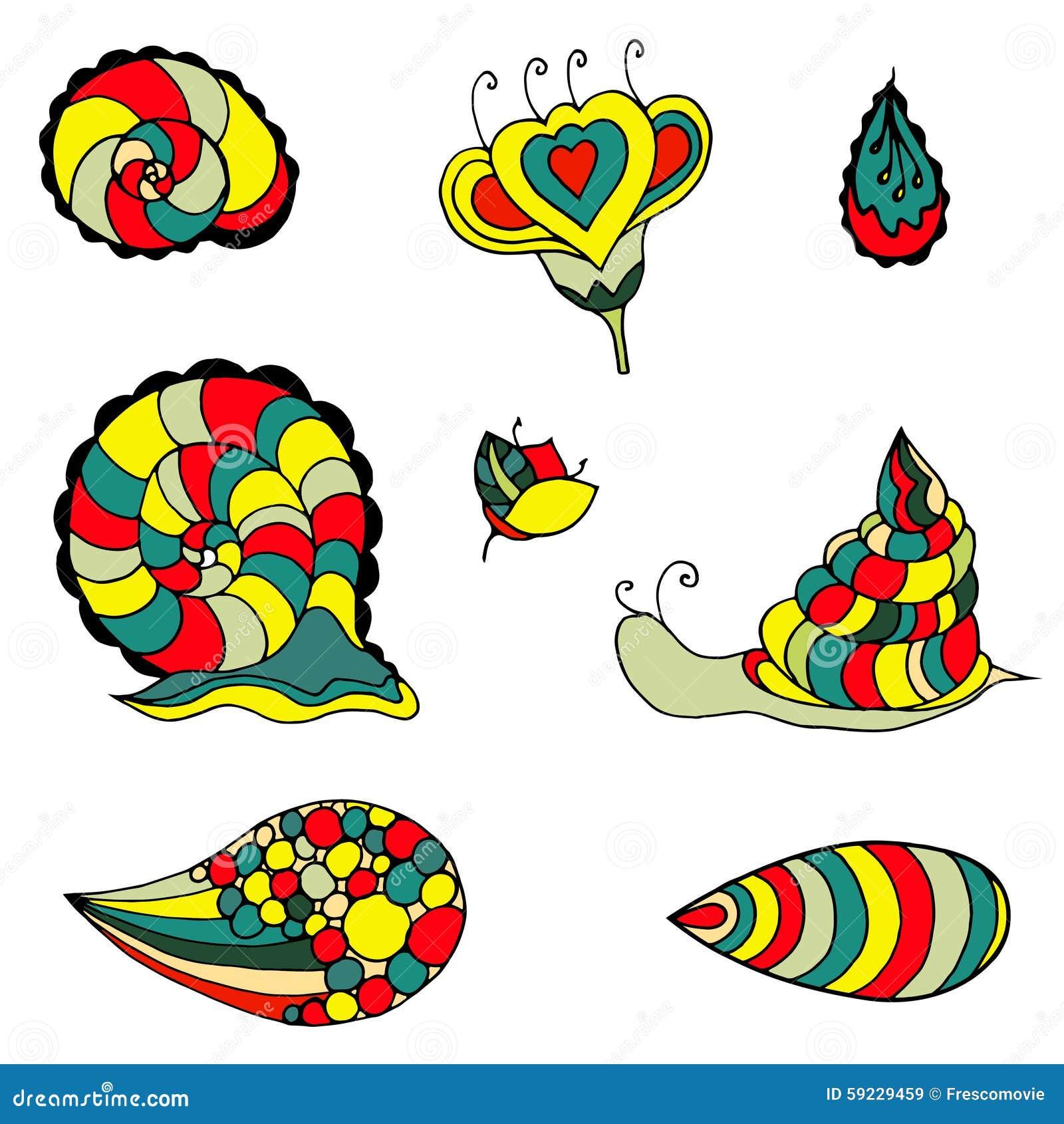 Download Flores incompletas ilustración del vector. Ilustración de follaje - 59229459