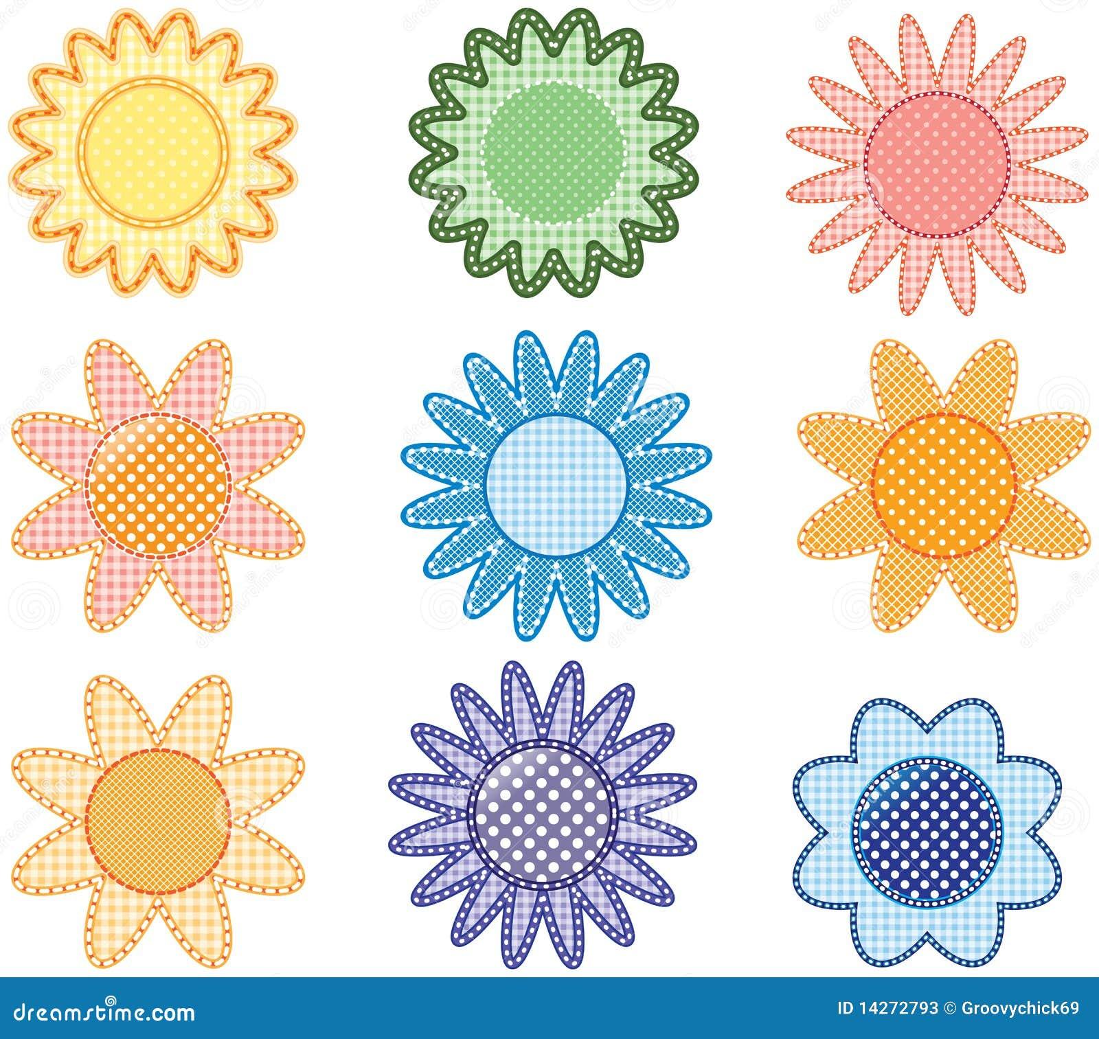 Flores multicoloras