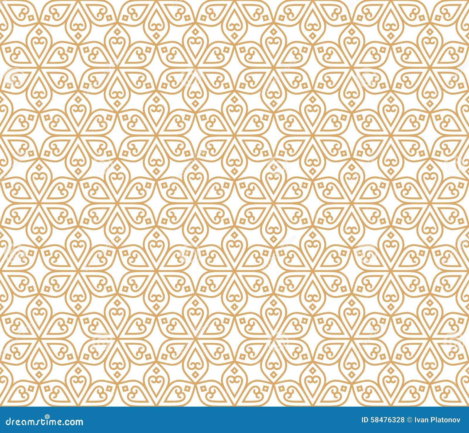Flores tradicionais do teste padrão abstrato sem emenda indiano