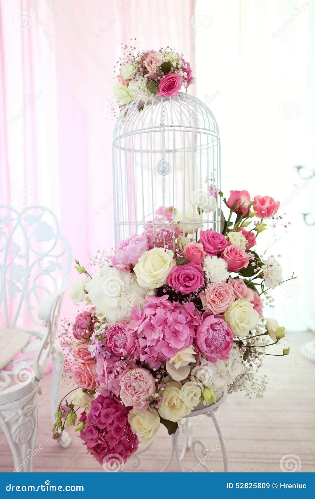 Flores wedding la decoración