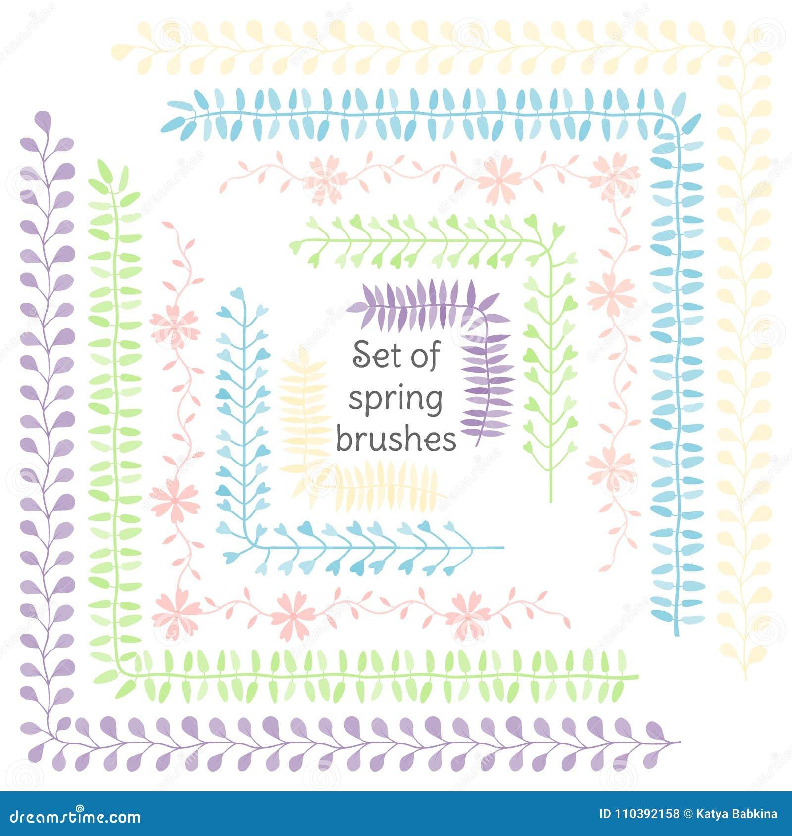 Flores Y Hojas Cintas Y Ornamentos Decoración Para Su Diseño