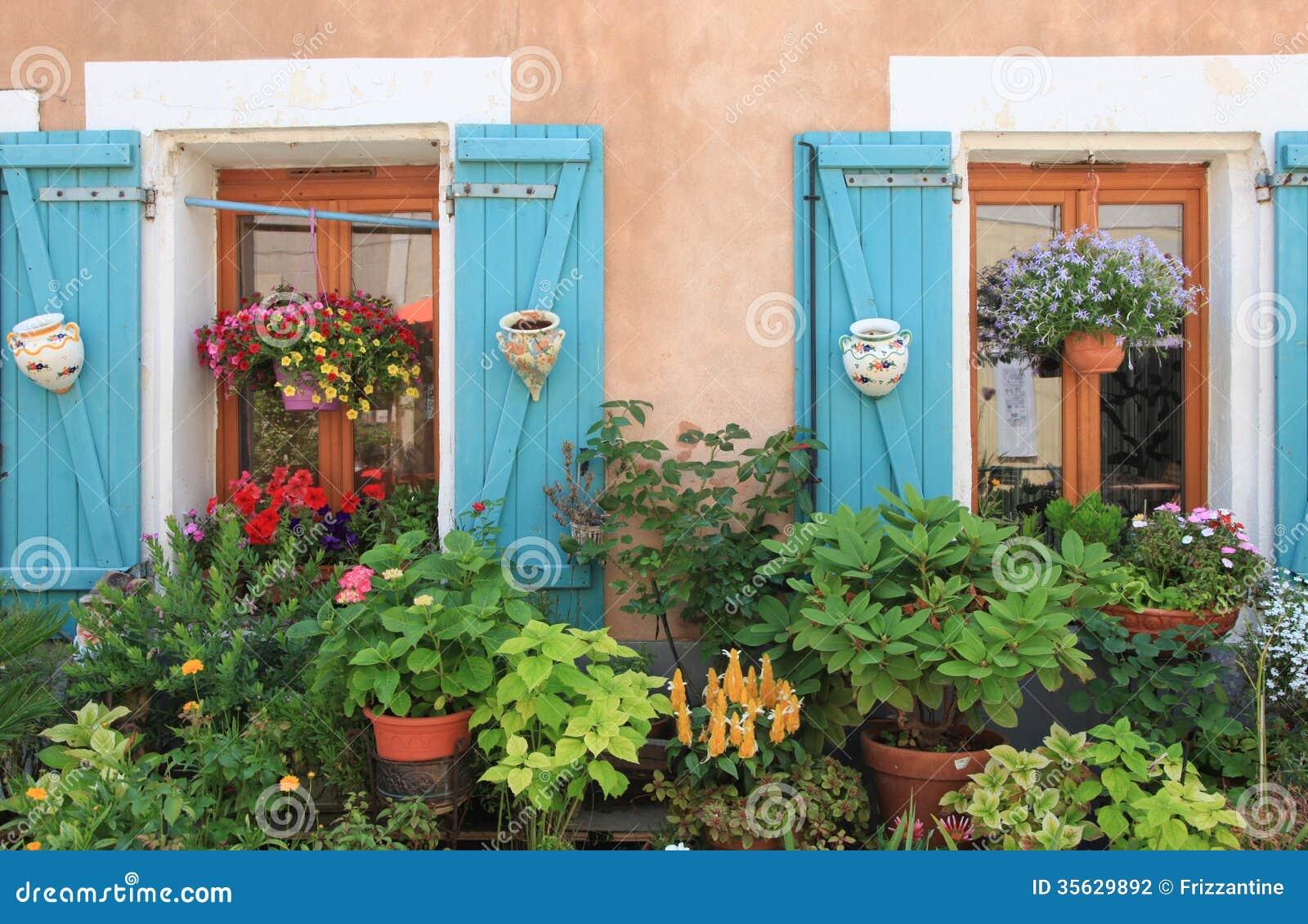 Flores y plantas que adornan exterior de la casa Plantas baratas de exterior