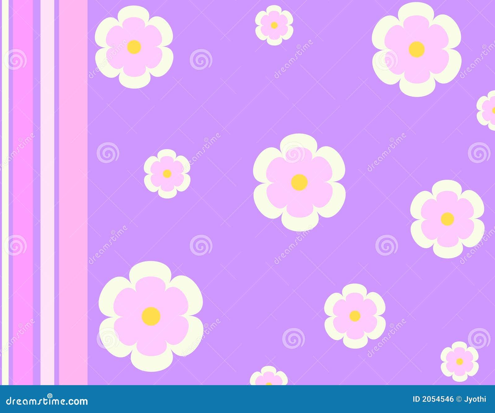 Flores y rayas