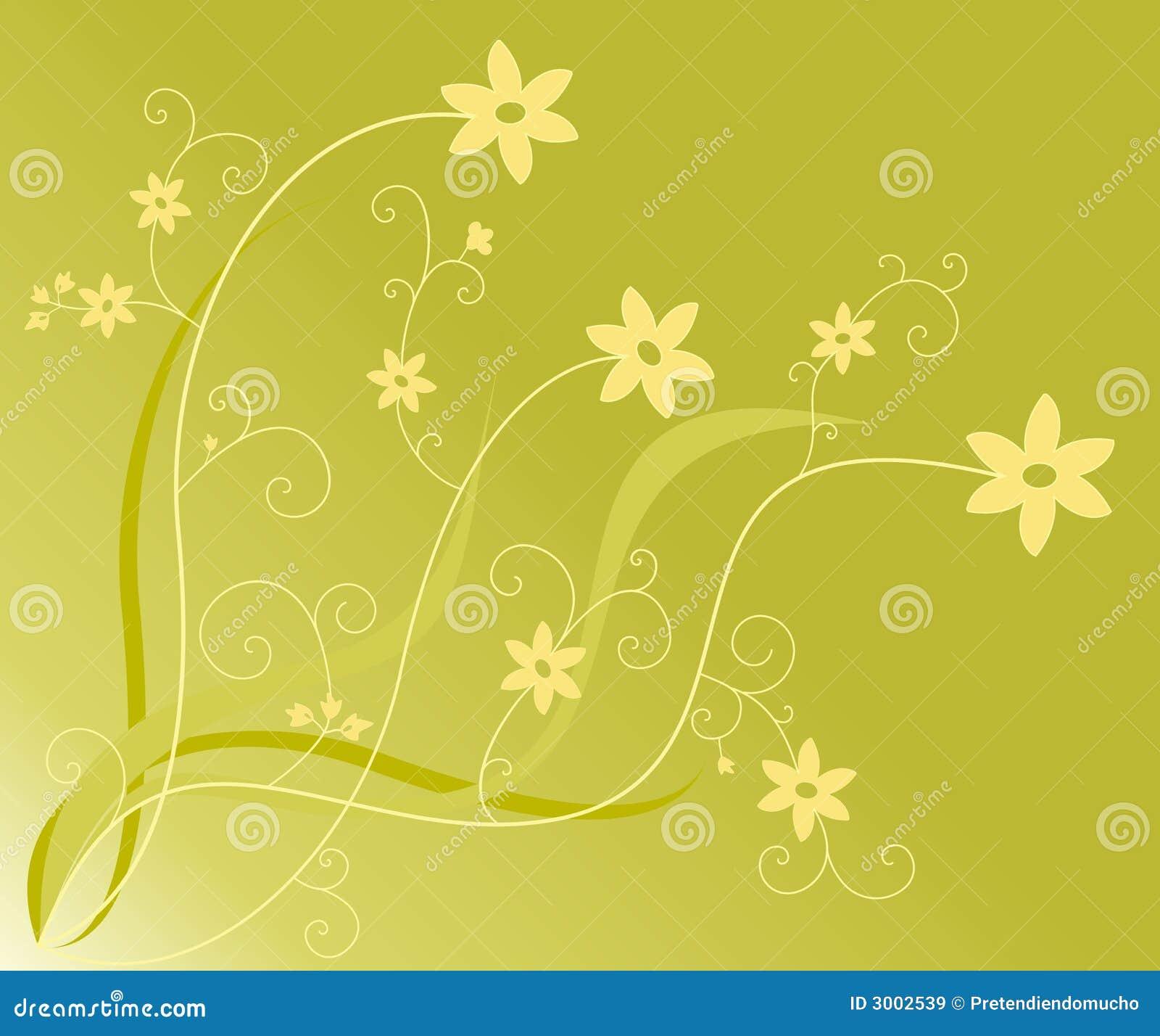 Flores y remolinos
