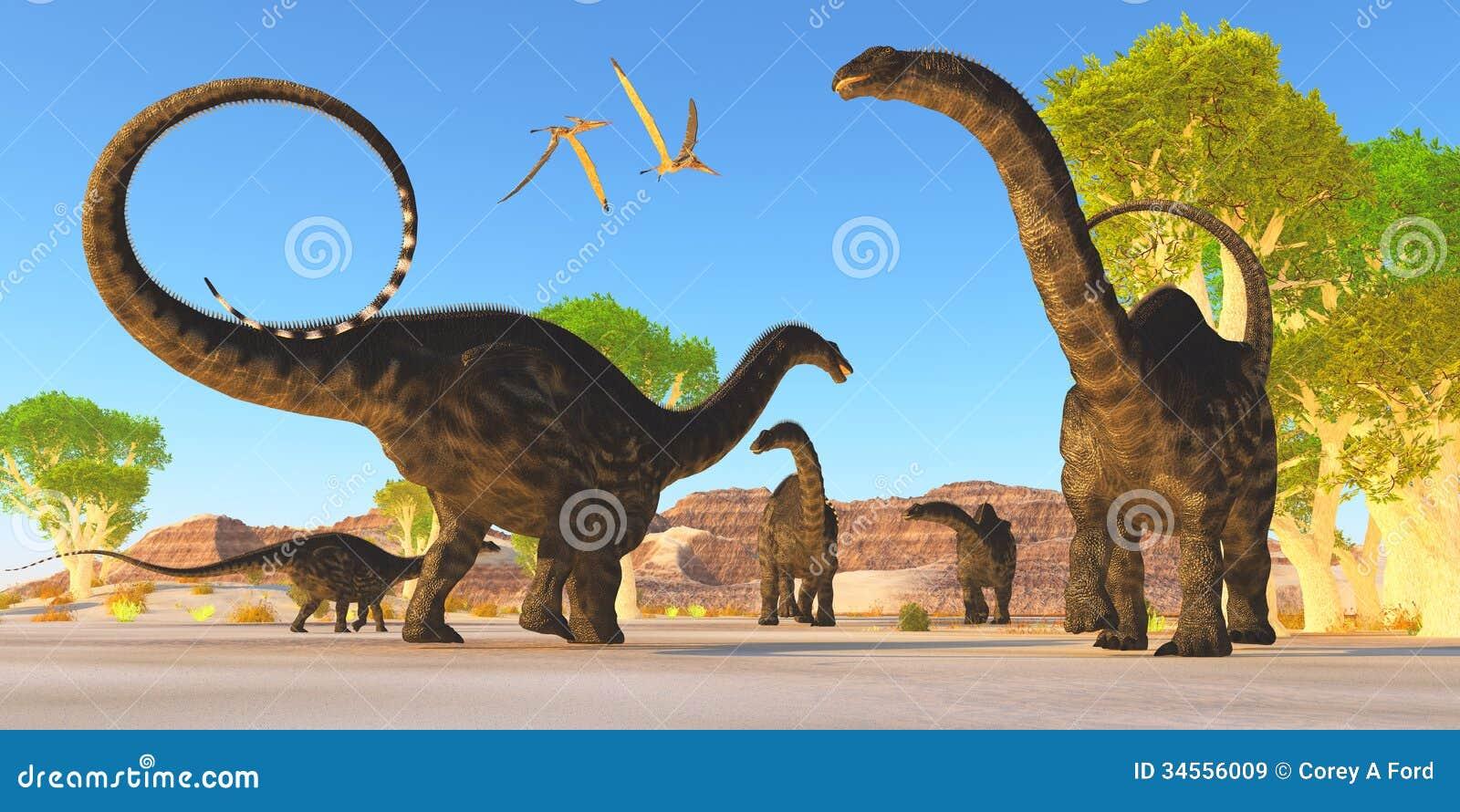 Floresta do Apatosaurus