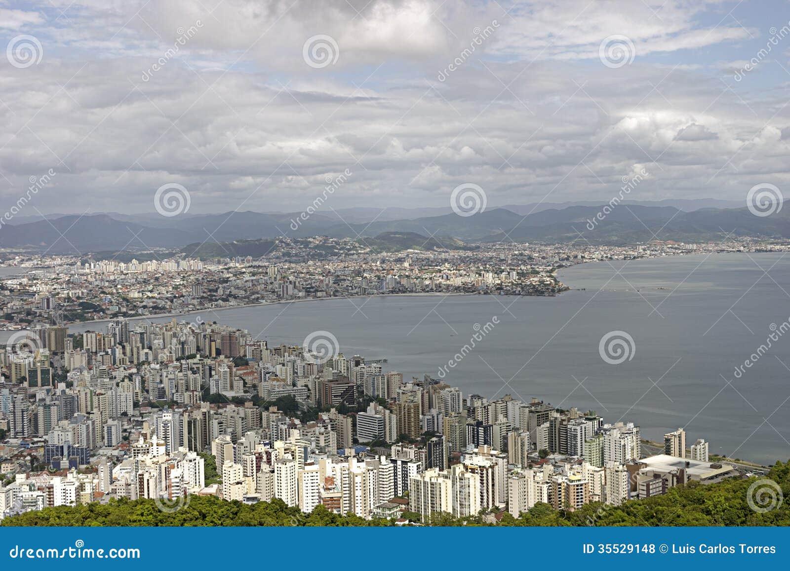 Florianopolis luchtmening - Brazilië