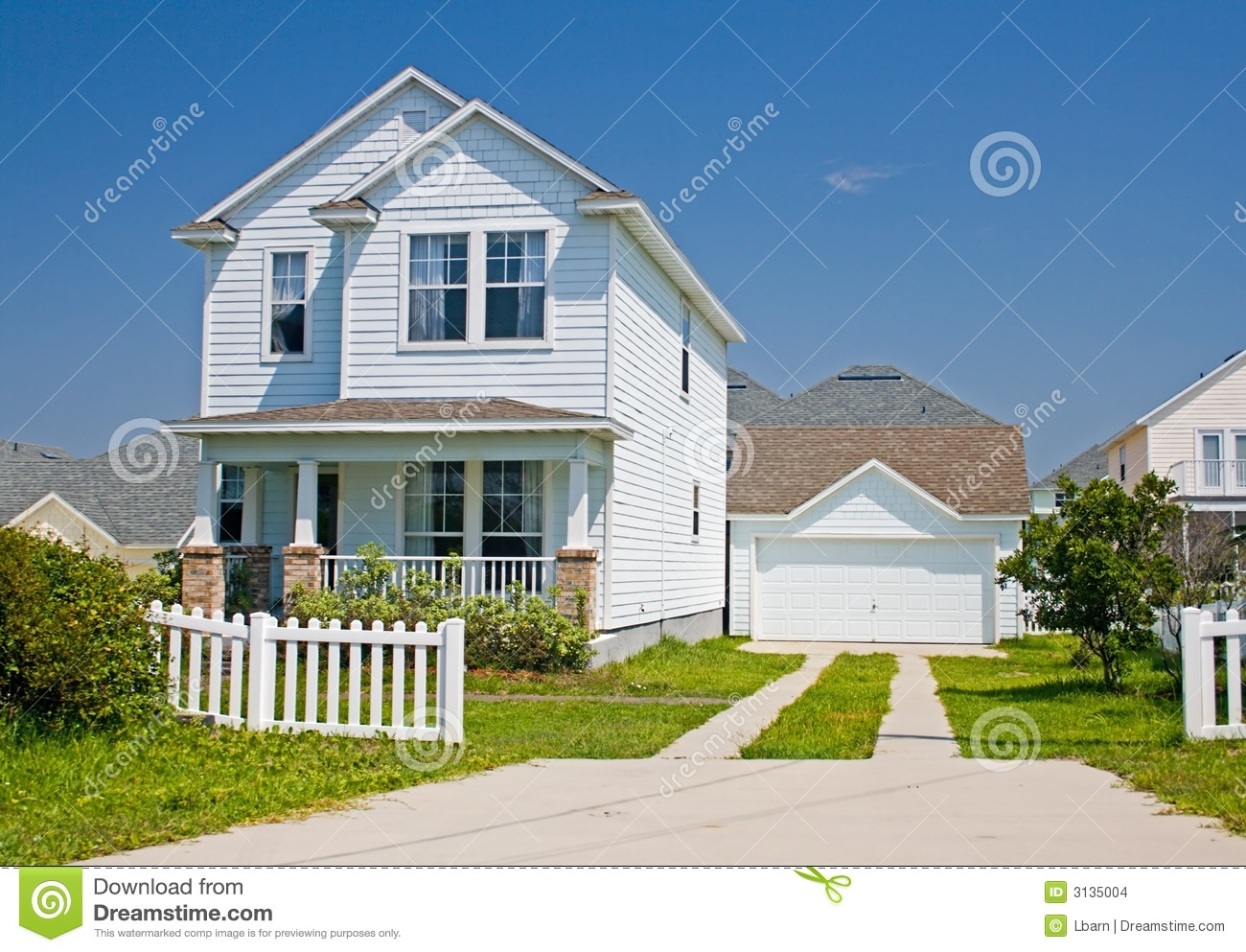 Surprising Florida Cottage Style Home 3 Stock Photo Image Of Classic Home Interior And Landscaping Ferensignezvosmurscom