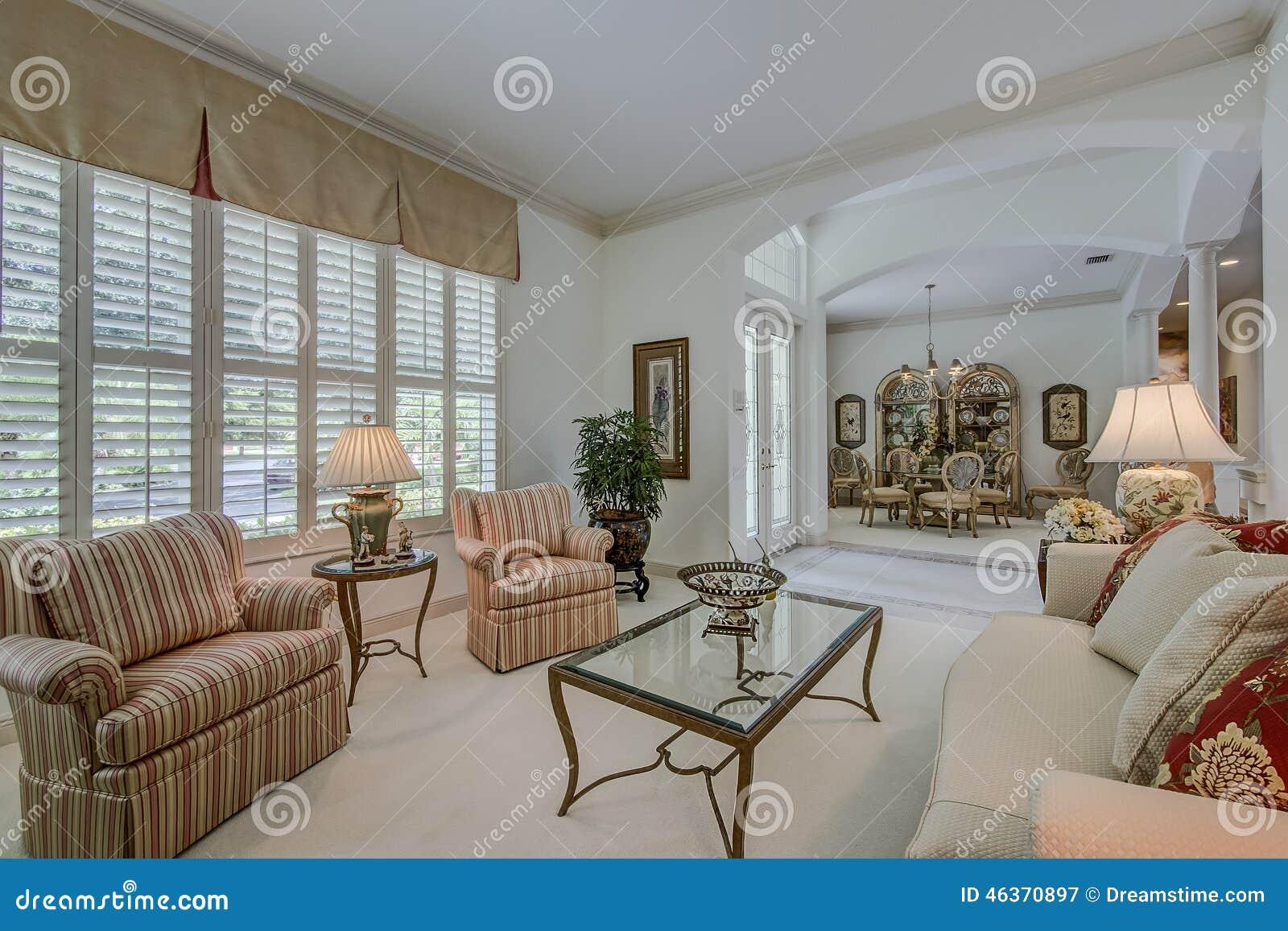 Florida luxury home living room