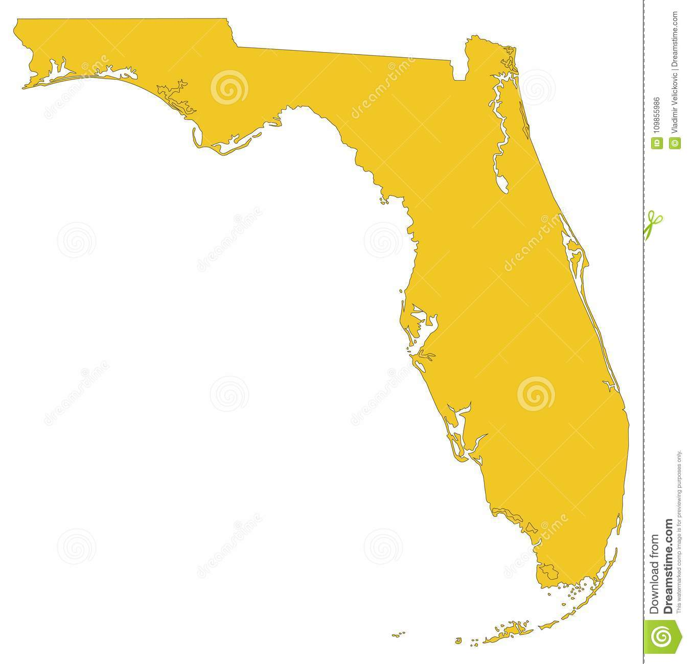 Florida Map State.Florida Map Southernmost Contiguous State In The United States