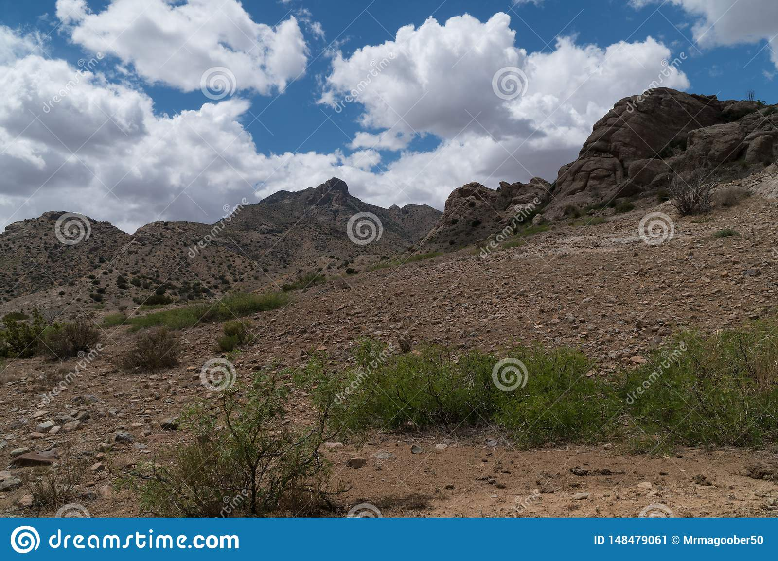 Florida Mountains scenic in southwest New Mexico