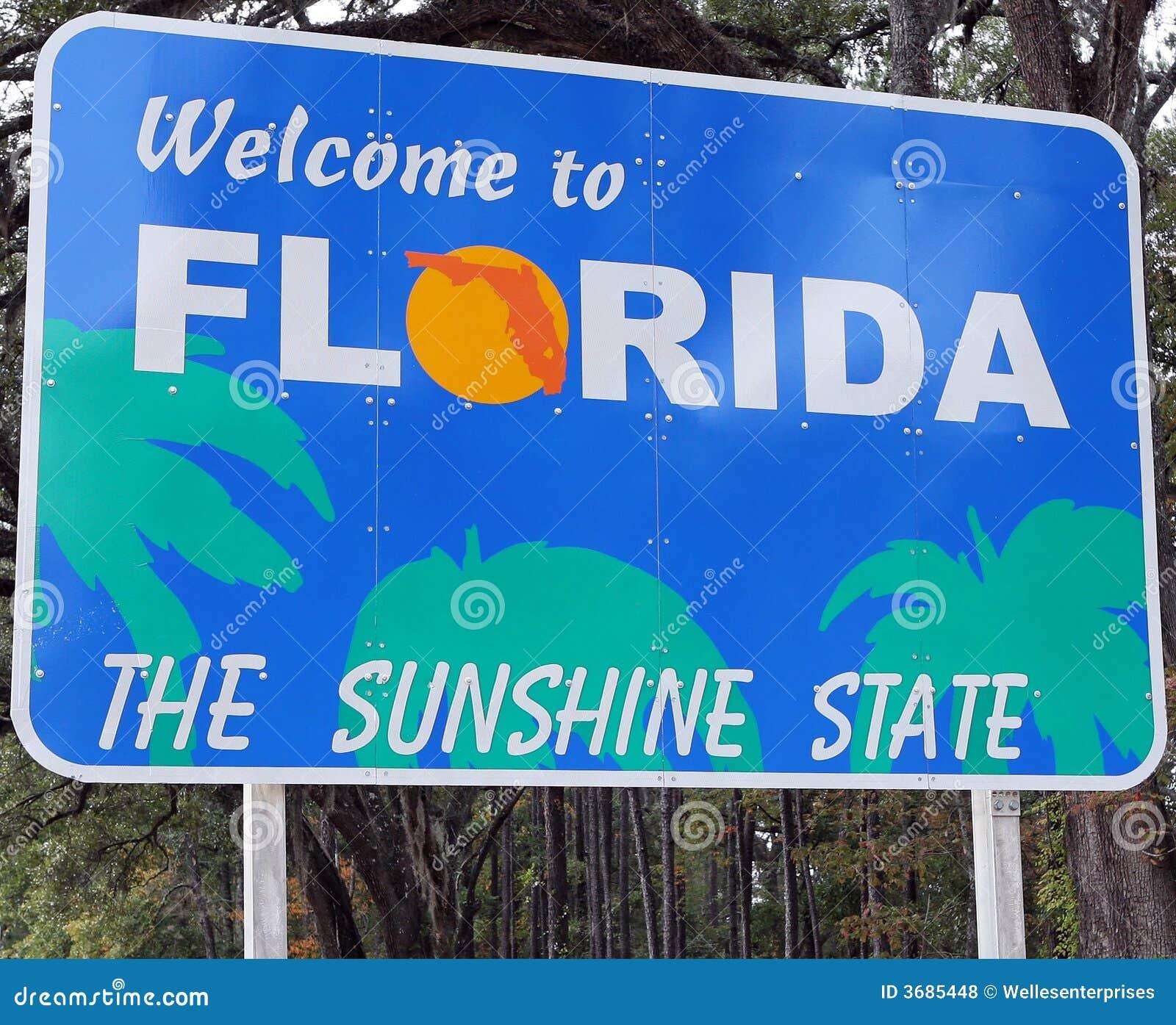 Florida som ska välkomnas