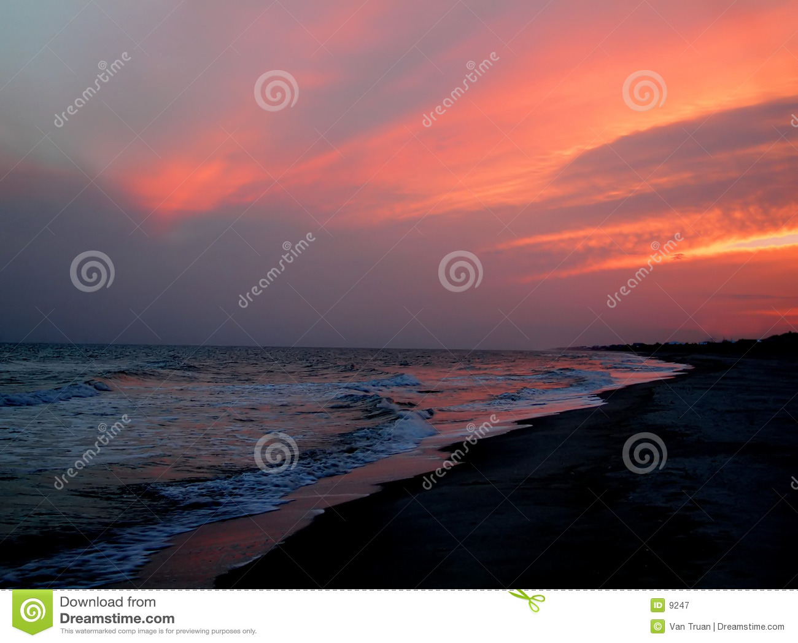 Florida-Sonnenuntergang