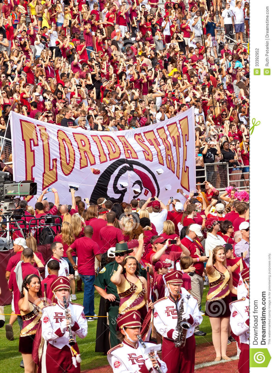 Florida state football editorial photography image of athletics florida state football voltagebd Image collections