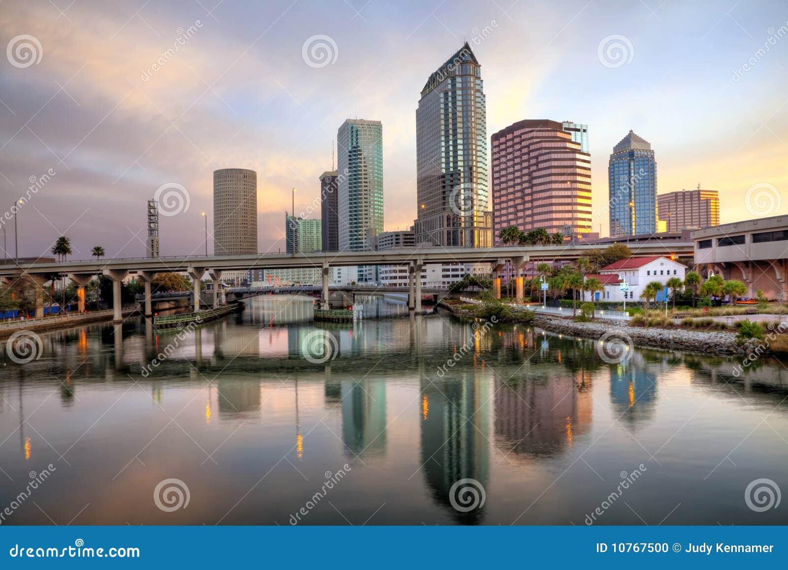 Florida wschód słońca Tampa