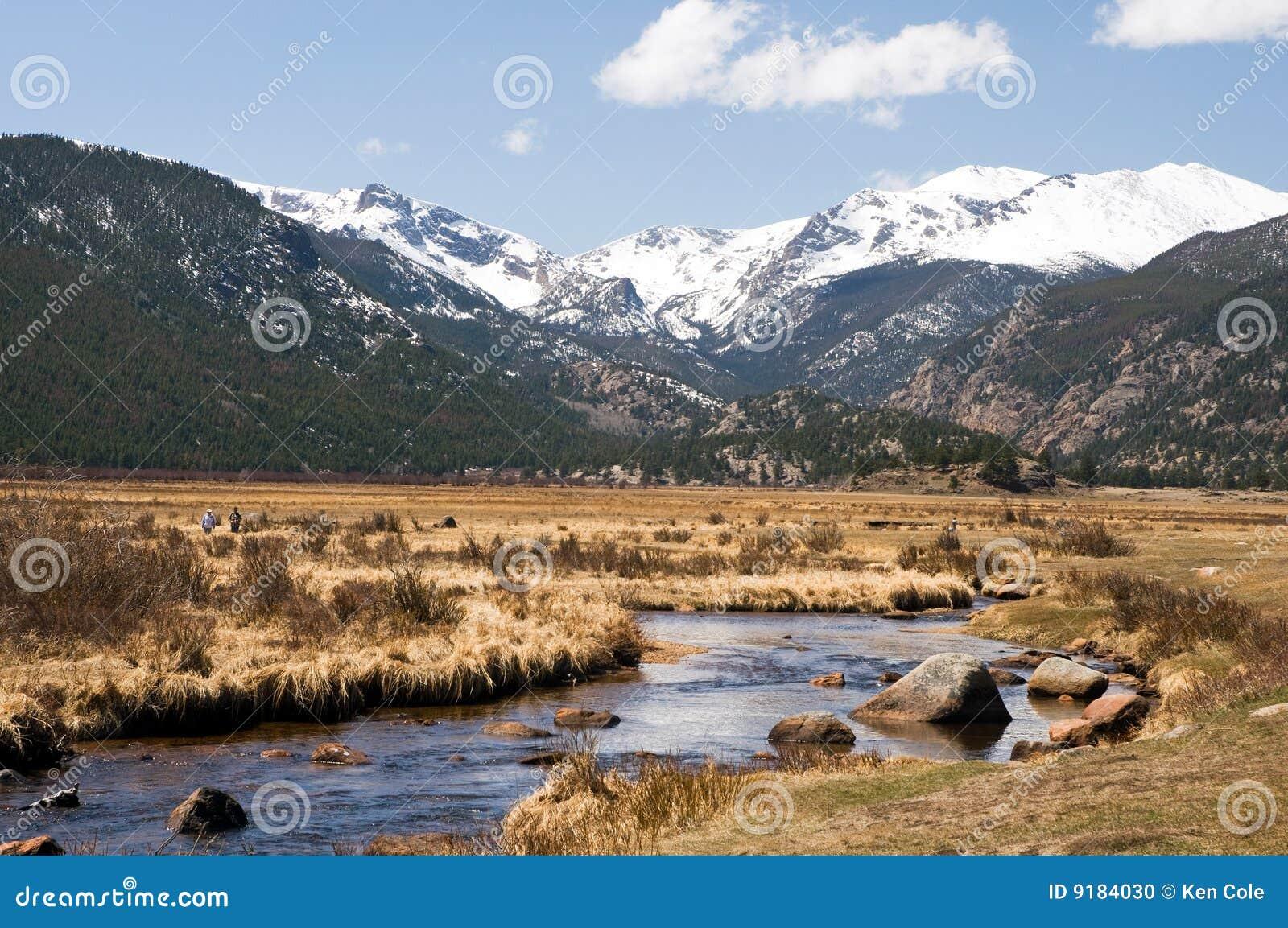 Flot de montagne du Colorado