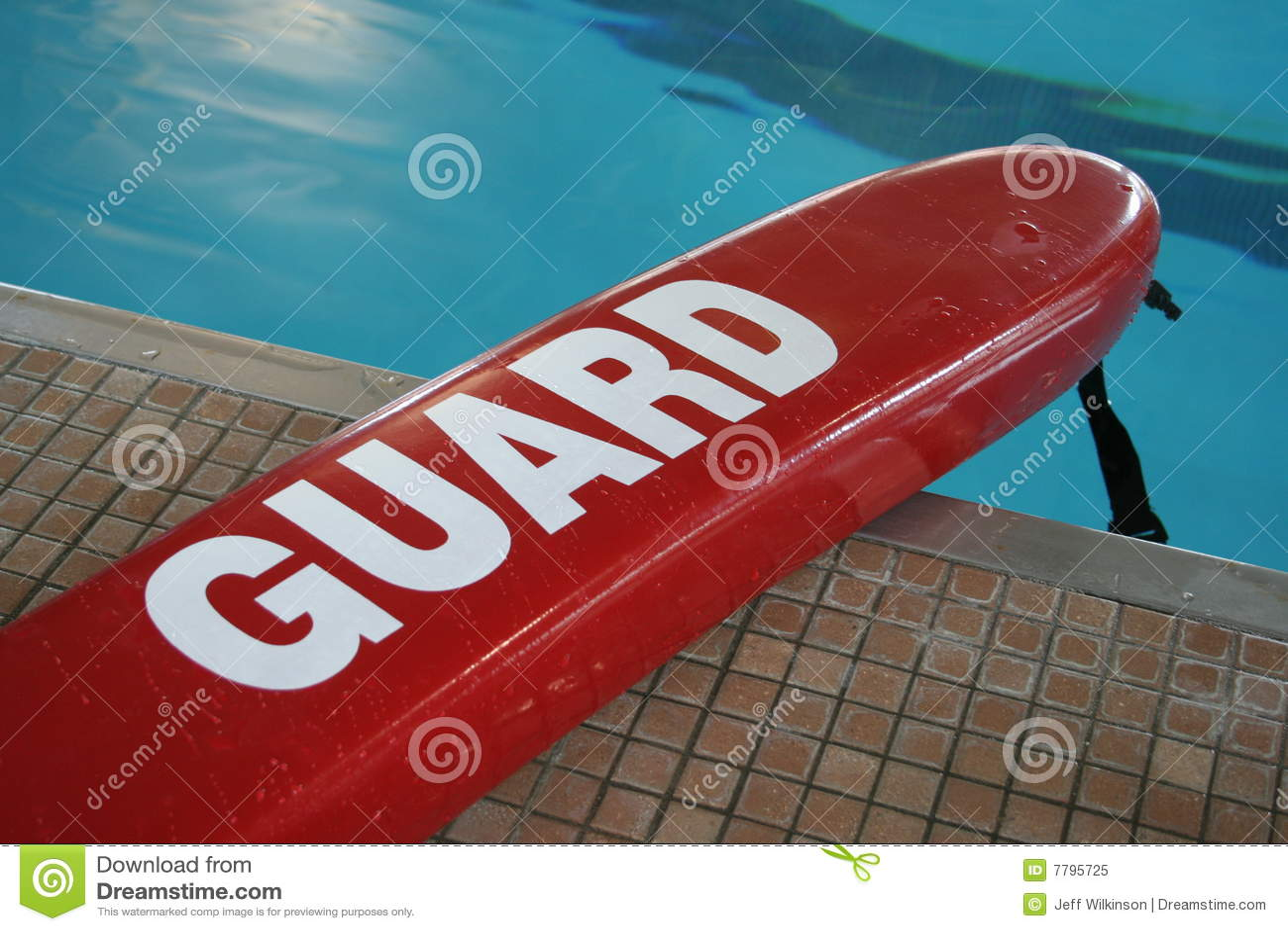 Flotador salvavidas de la piscina foto de archivo libre de for Salvavidas para piscinas
