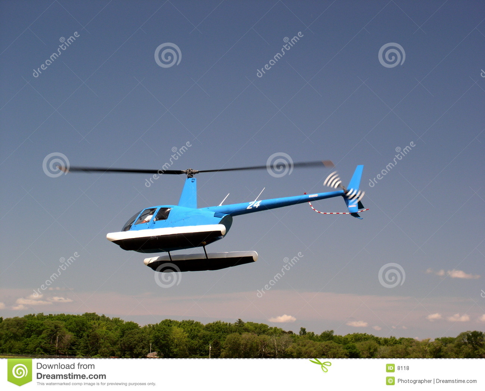 Flottörhus helikopter