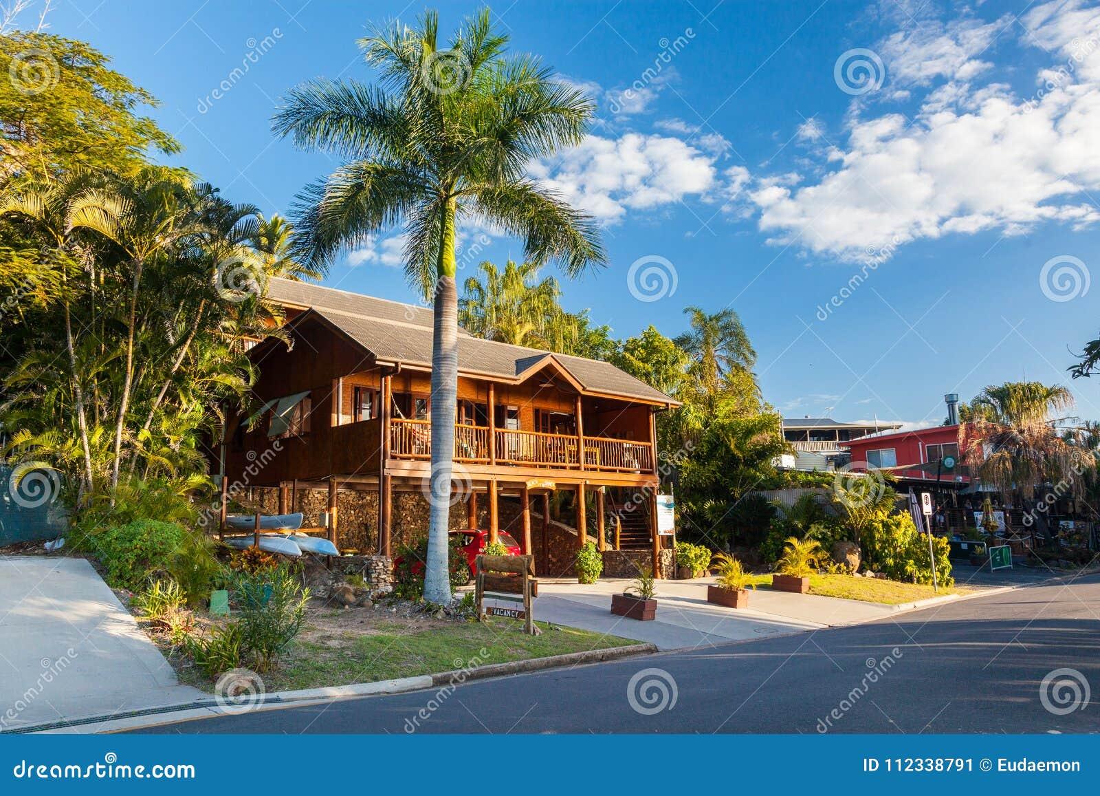 Flott strandhydda på sjutton sjuttio, Queensland