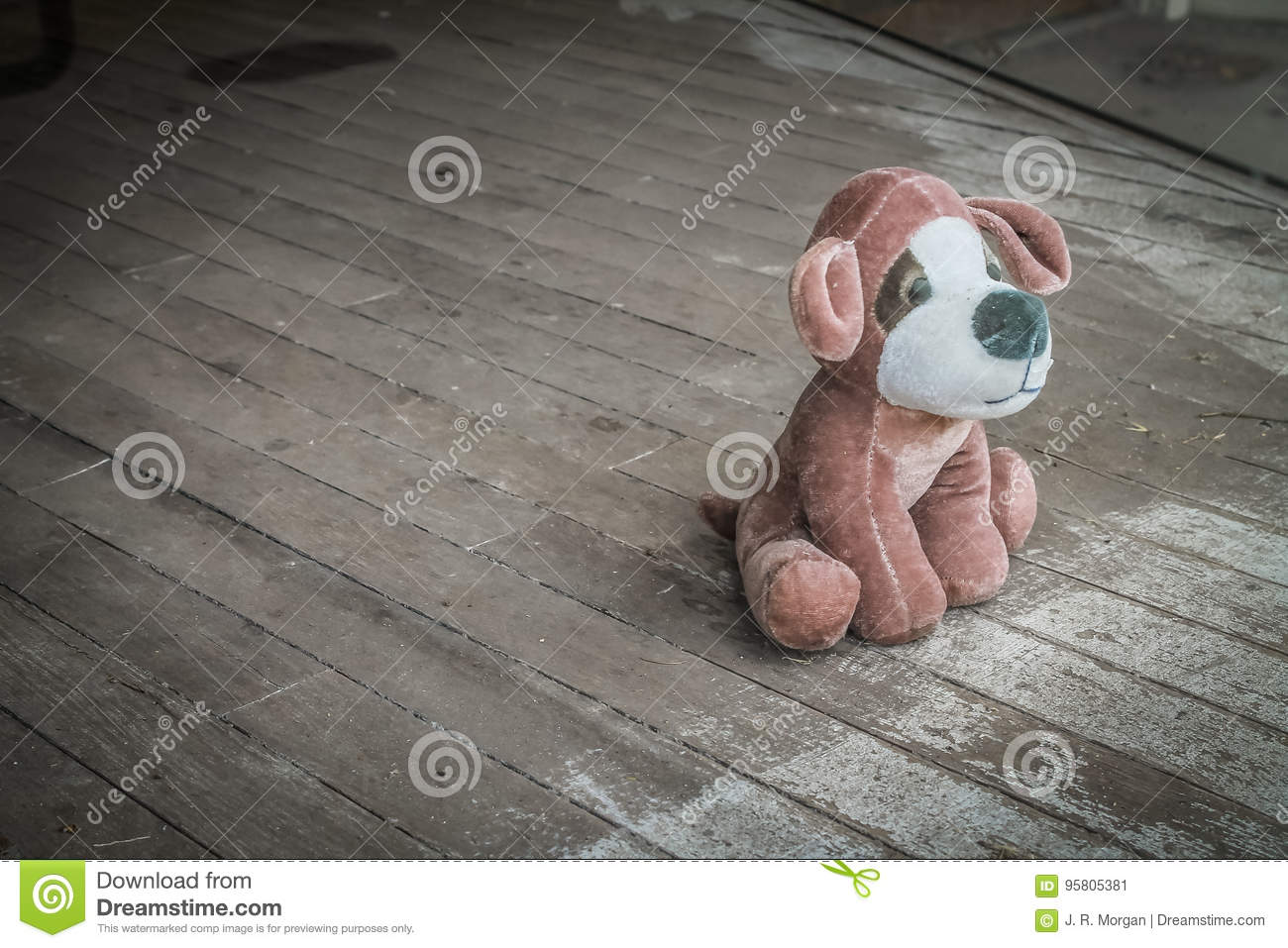 Flotta Toy Dog Abandoned