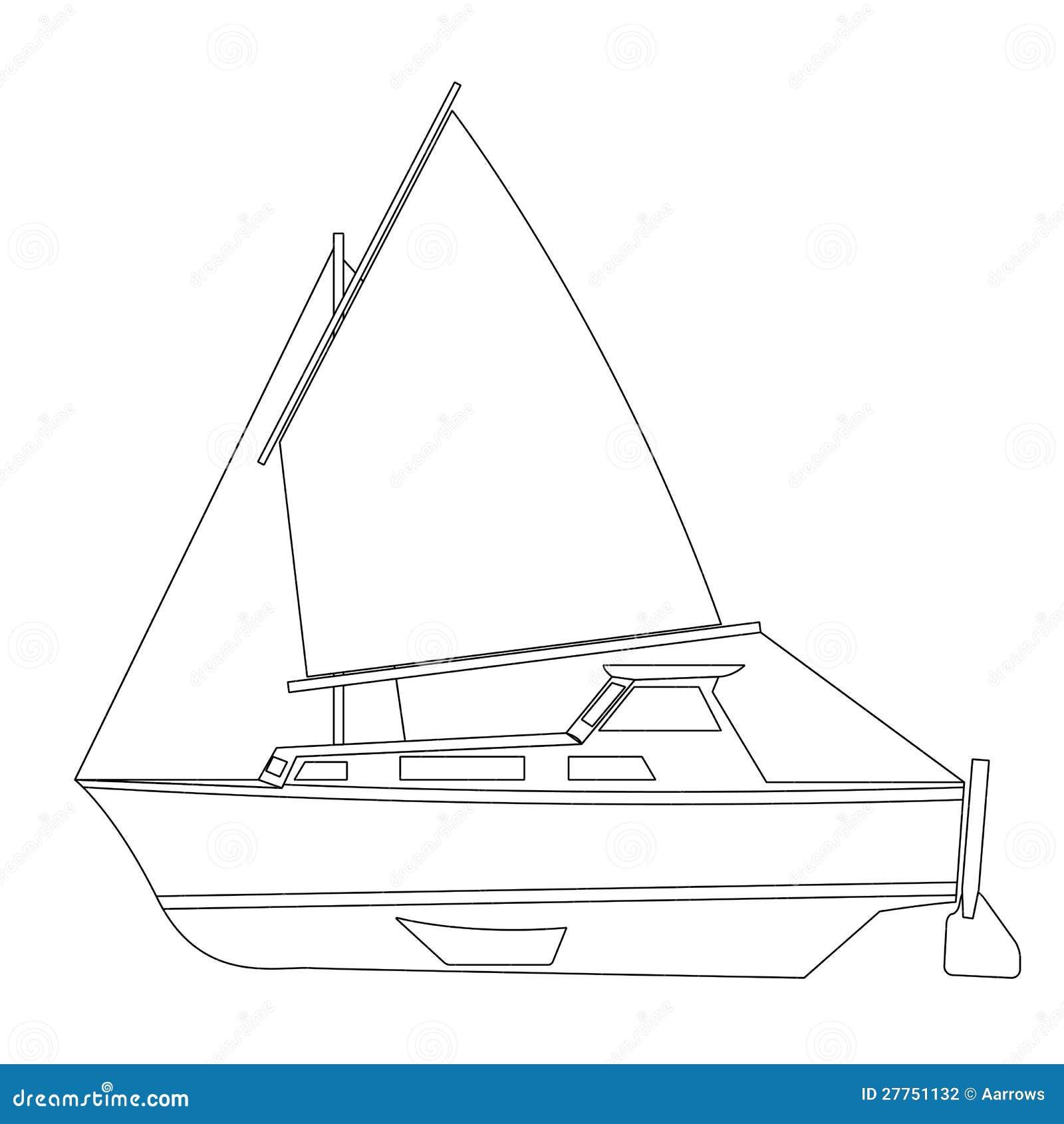 Flottement de bateau à voile