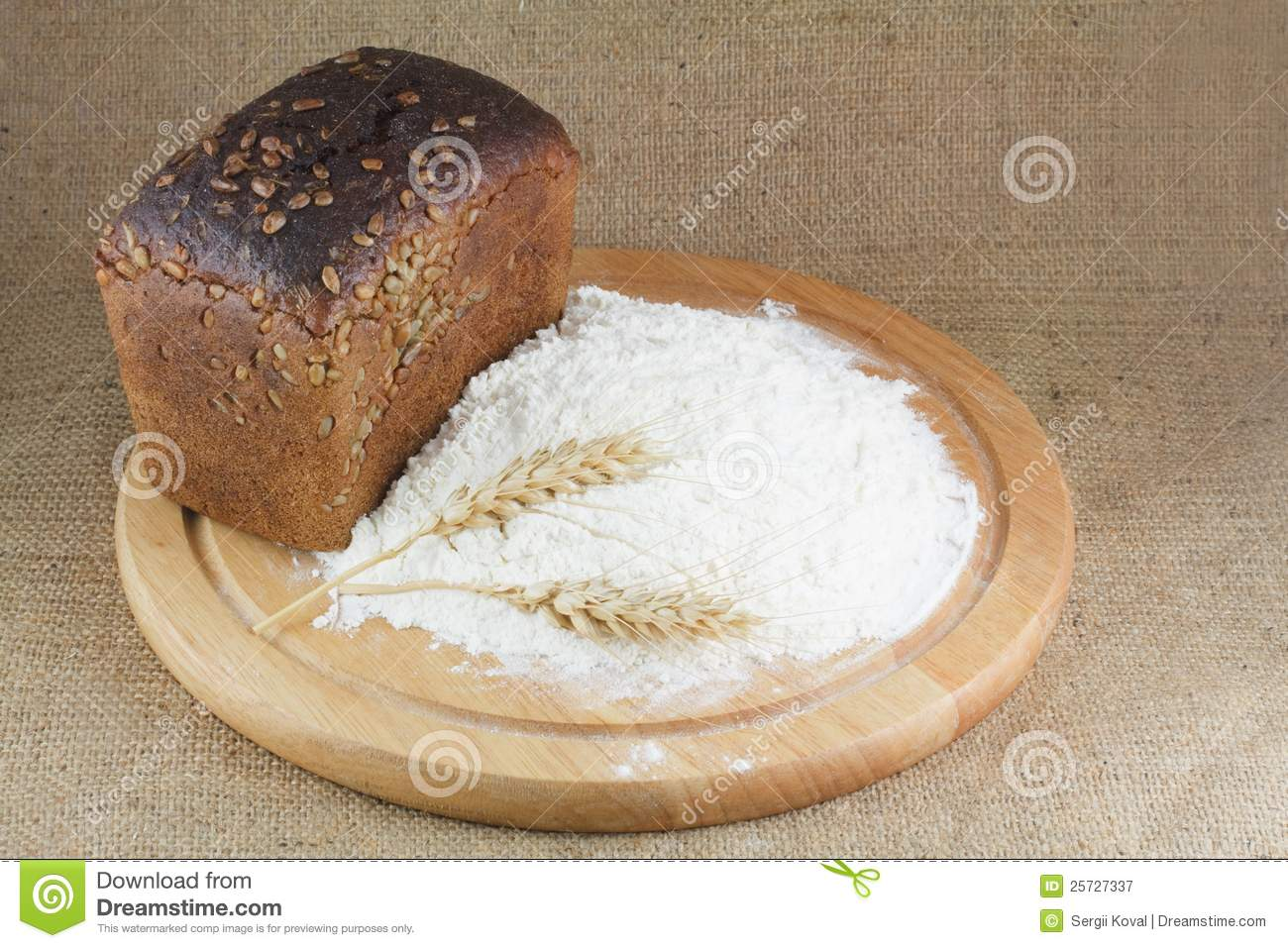 Flour, bread, wheat