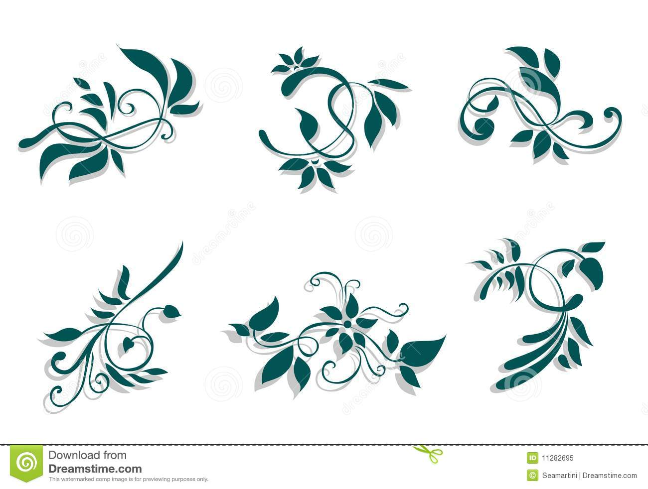Flourish decorations royalty free stock photo image for Decoraciones para trabajos